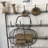 Ancien panier en fil de fer